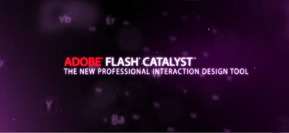 Adobe flash catalyst 1
